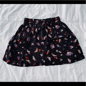 Garage Flowy Drawstring Skirt